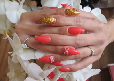 Lachs-Gold